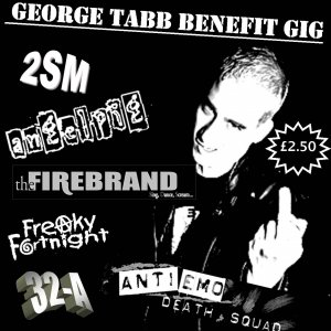 sat 16tyh sep - benefit gig in kings for george tabb